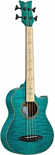 Ortega WALKER-25TH Anniversary Travel acoustic bass with gig bag - WALKER-25TH